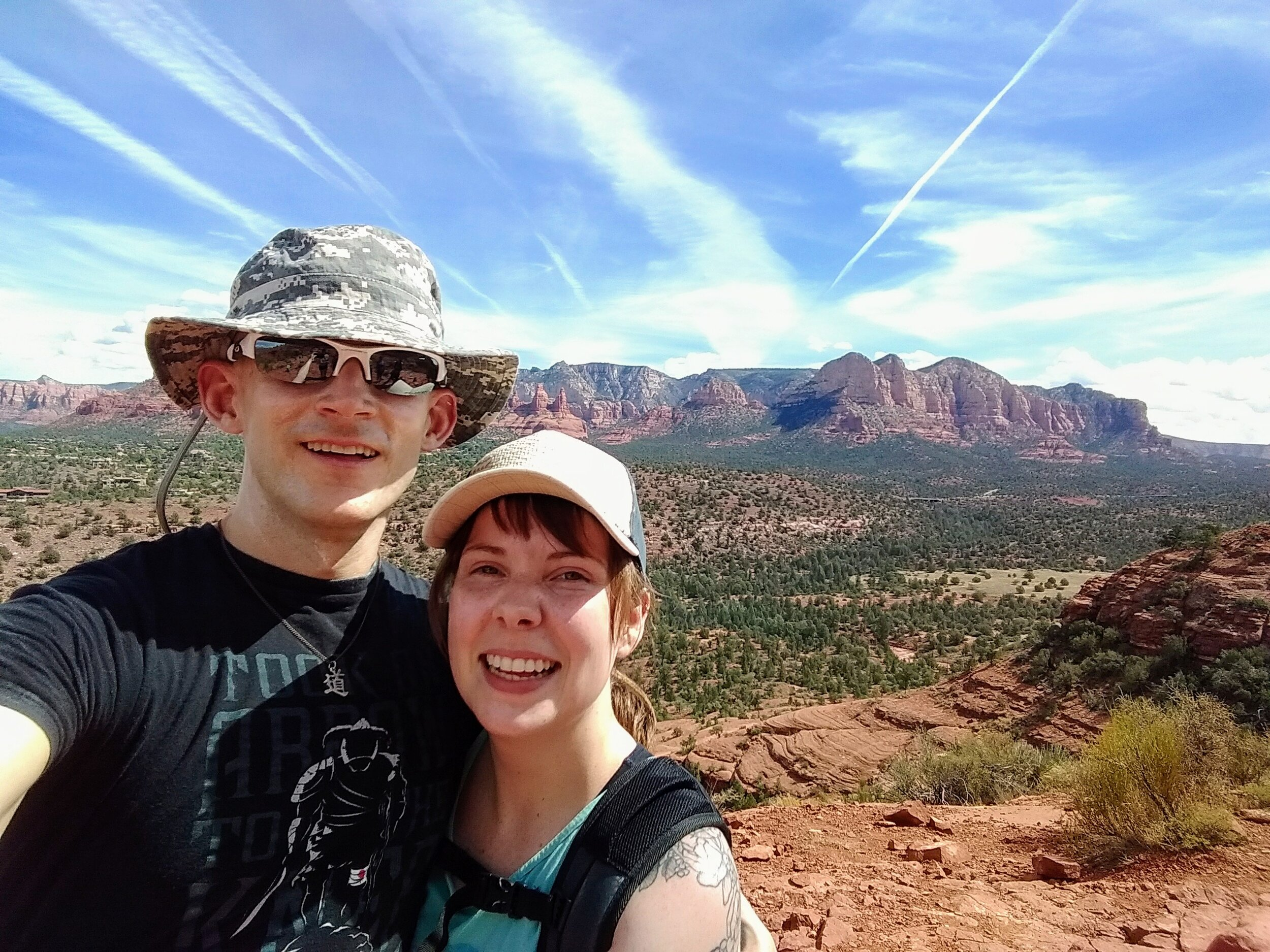 Grace and I in Sedona