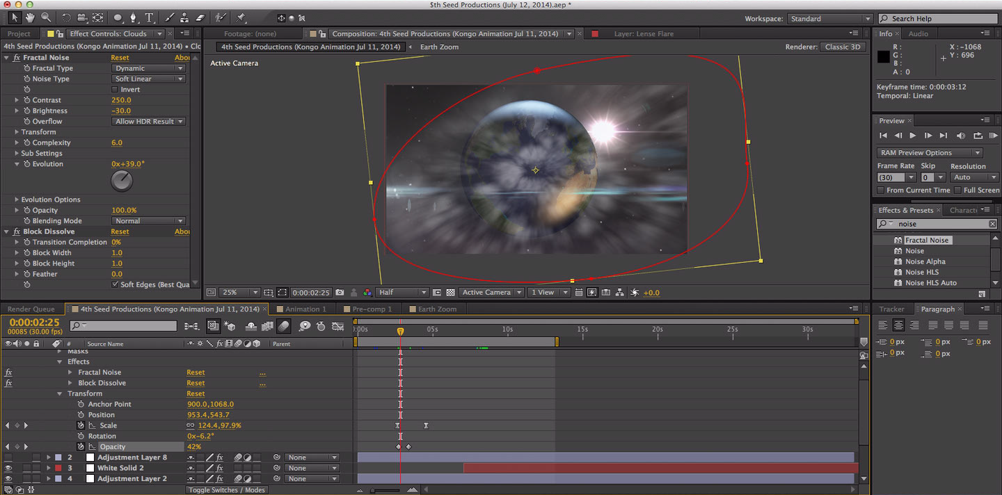 4th Seed Productions Prev. Animation