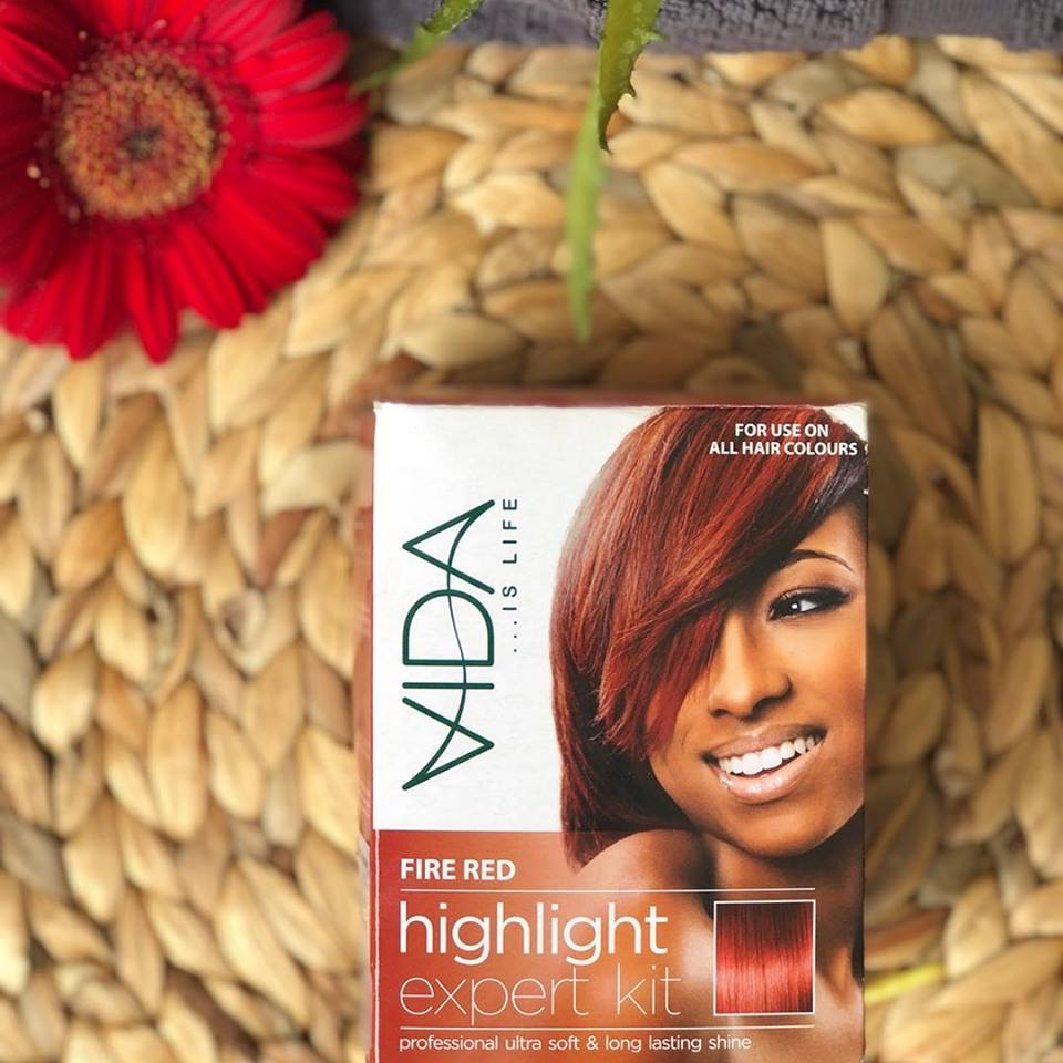 Vida Hair Colour Packaging Design