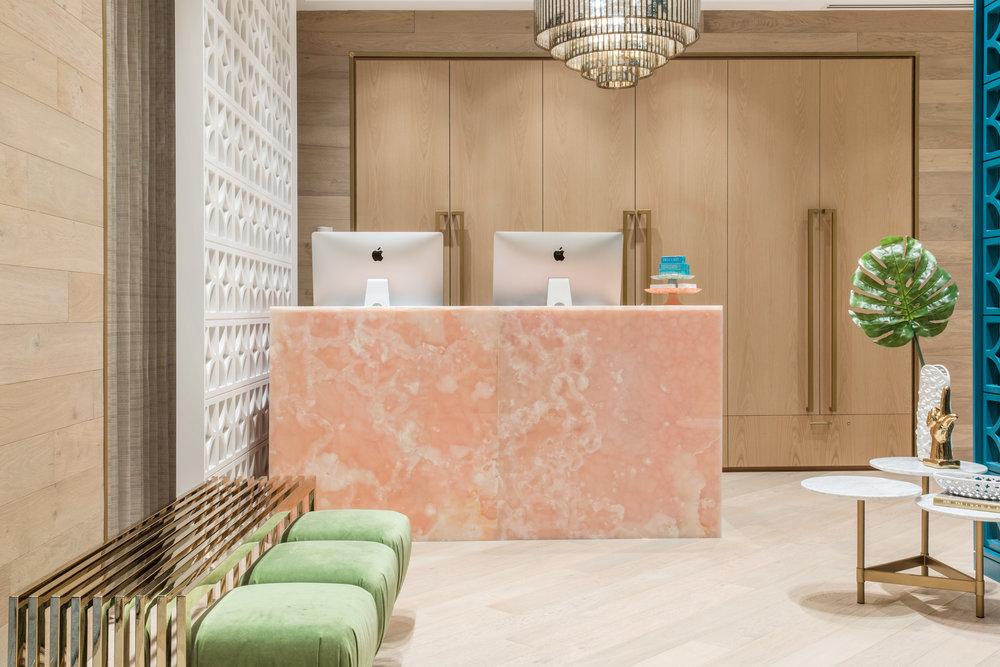 BUTTER BEAUTY PARLOUR   interior design   mckinley burkart ...