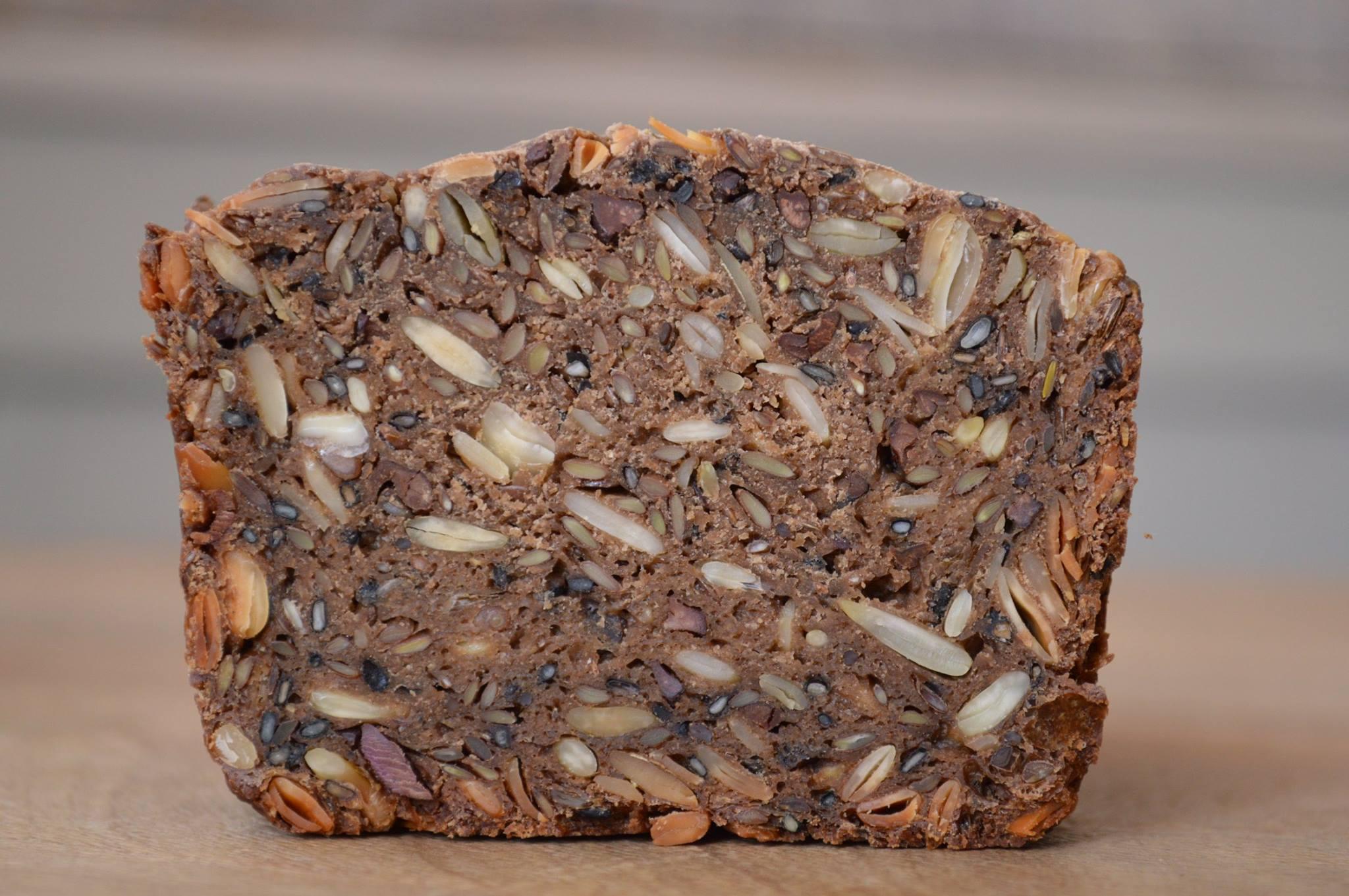 seeded rye.