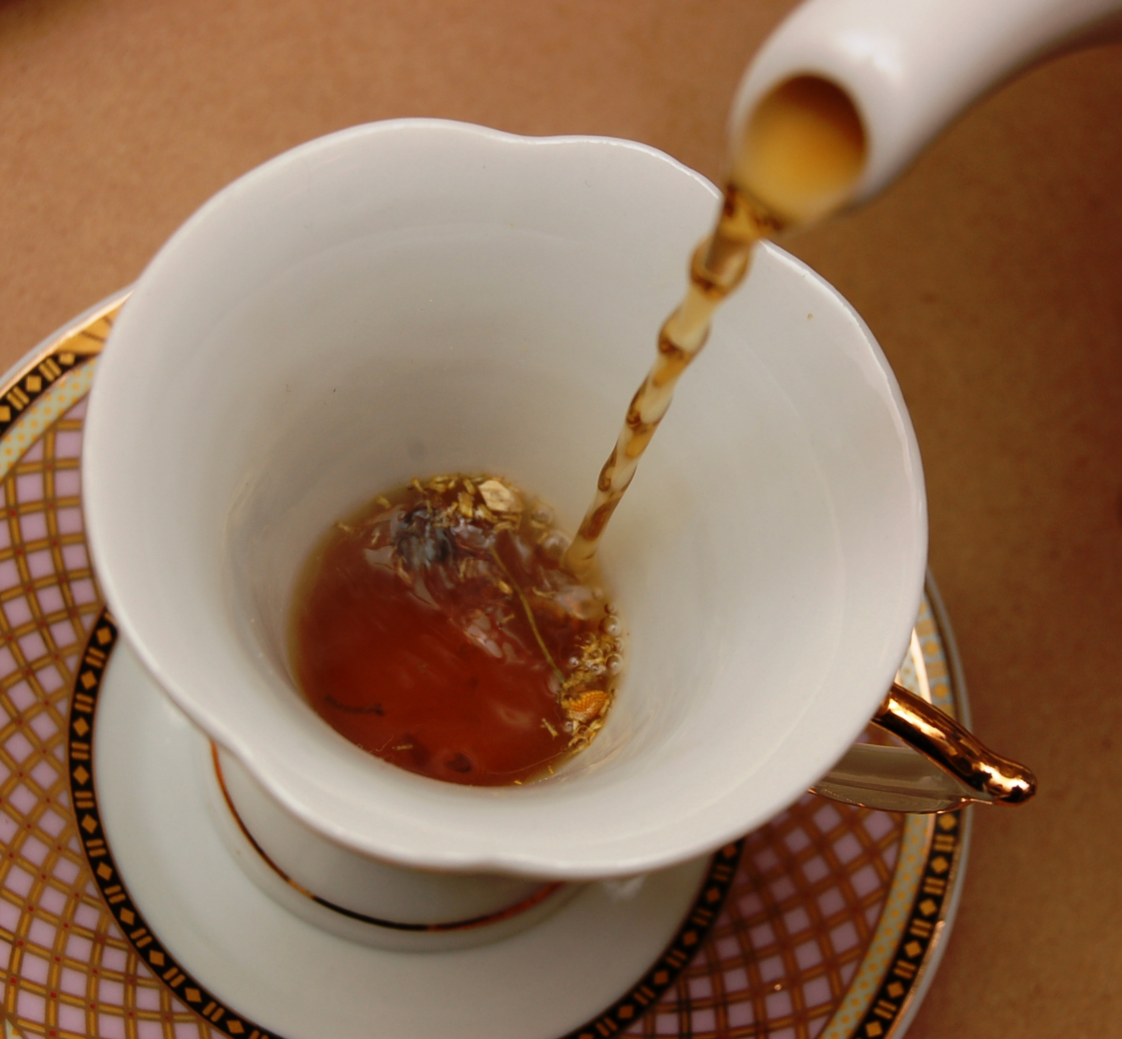 now you can have our mushroom tea anytime you want.