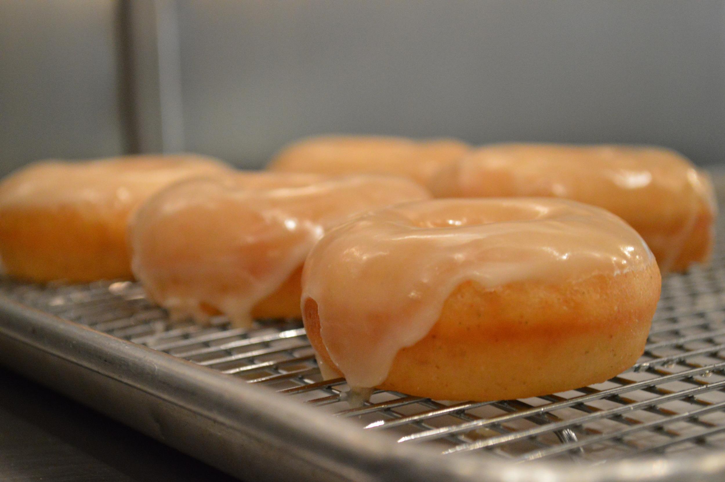 our gorgeous doughnuts  .