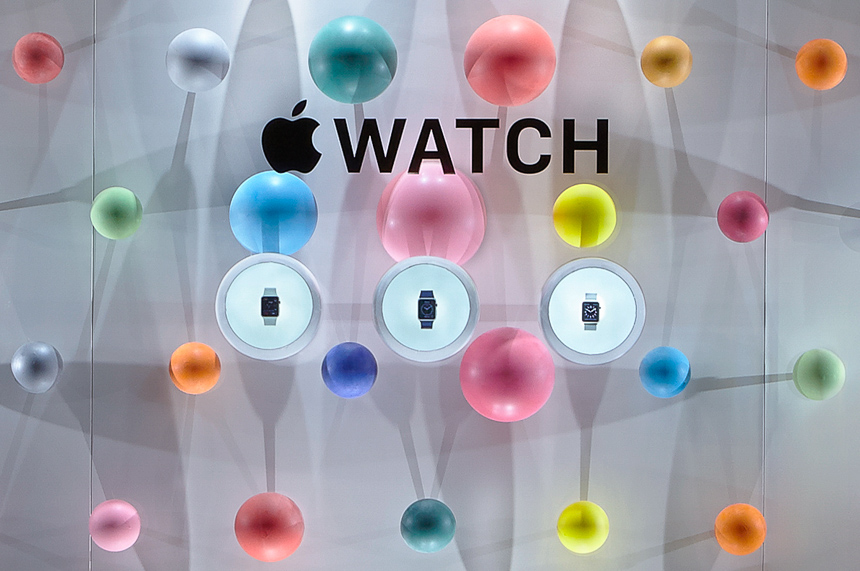 "The Apple Watch is expected to take center stage at Apple's ""Spring Forward"" event today. Credit: Reuters"
