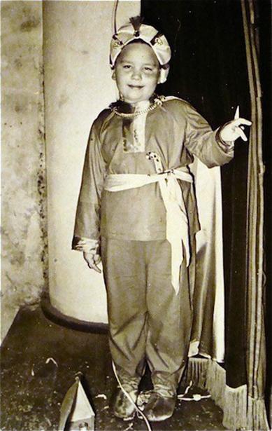 Giorgio as a young boy