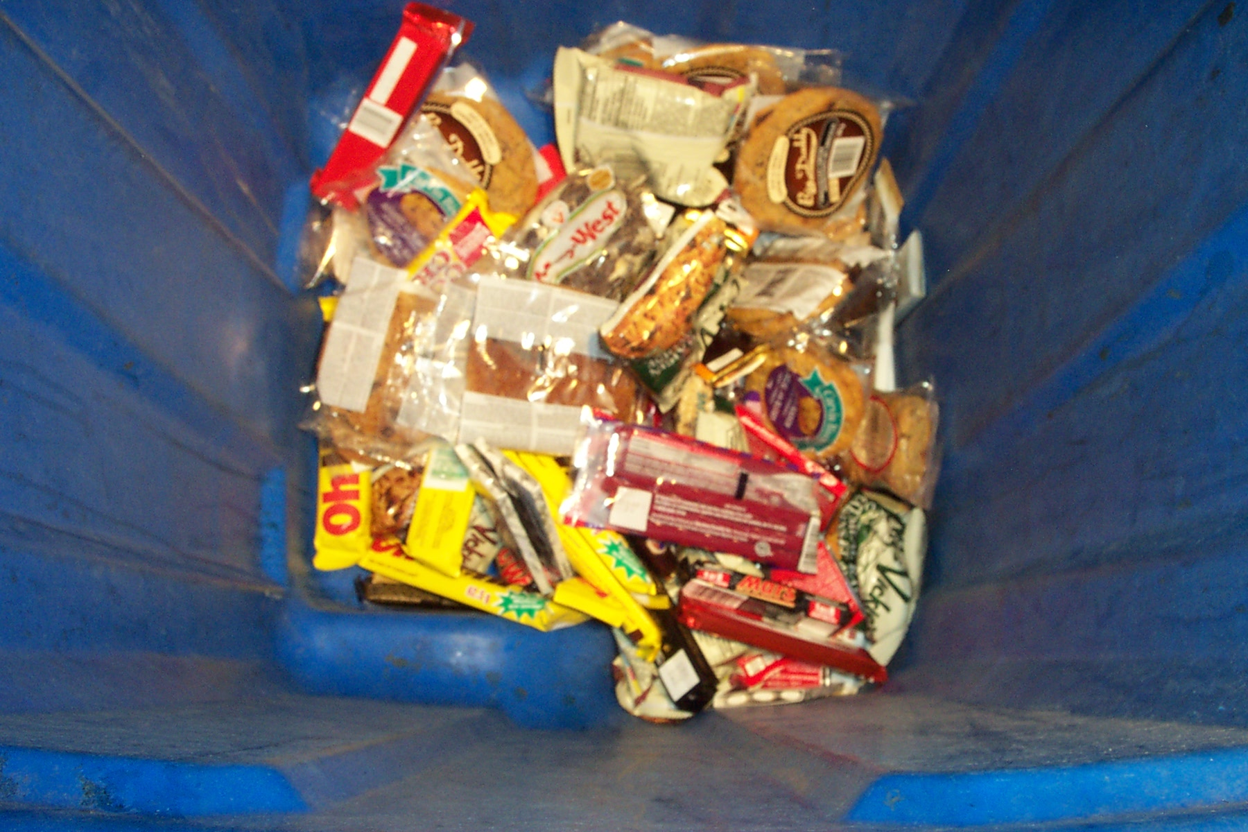 magic blue bin of candy.JPG