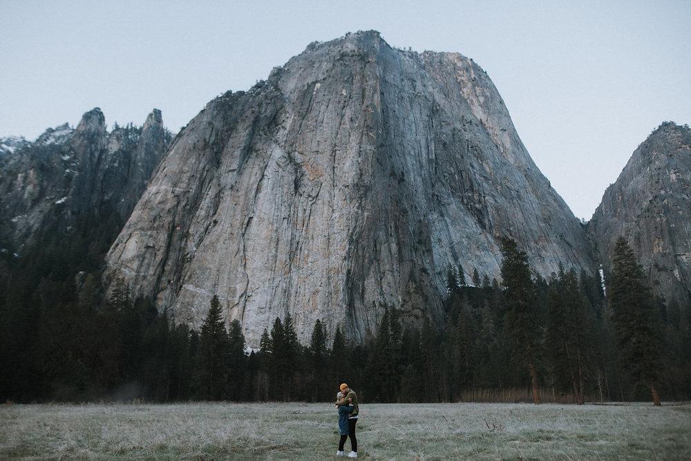erik + elise - Yosemite National Park: Engagement