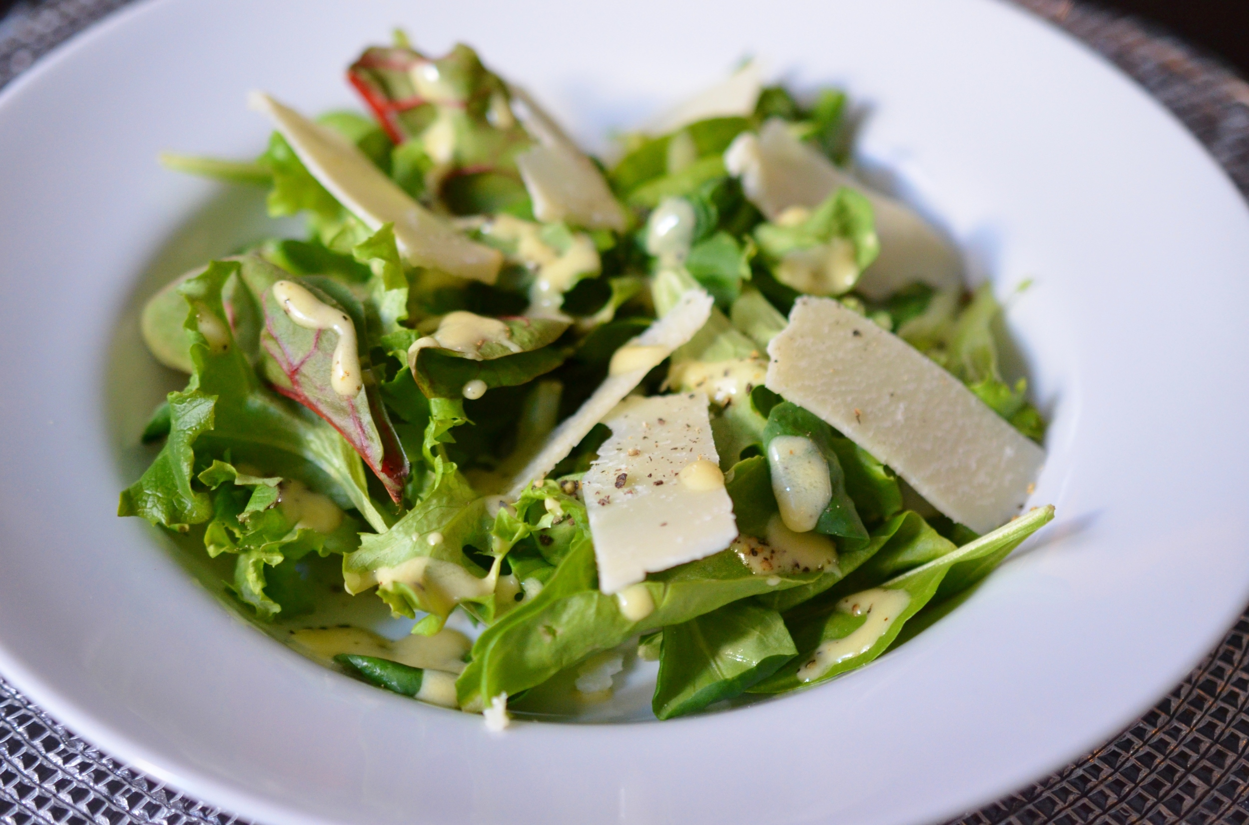 Simple Salad with French Bistro Vinaigrette