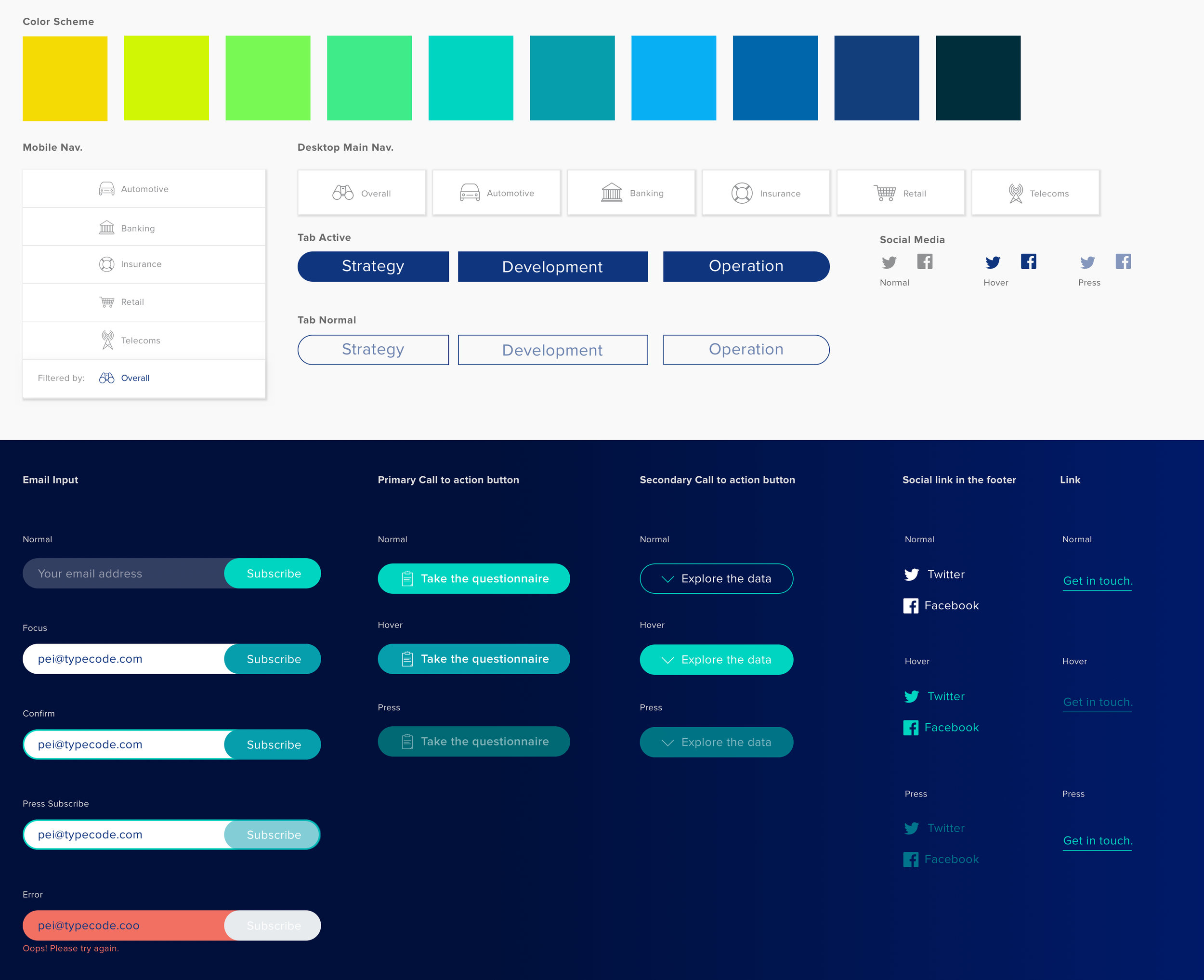 Style Guide & UX Power Tool Set