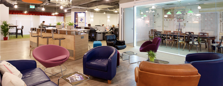 Collaborate space at Jersey's digital hub