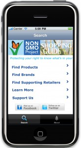 http://www.nongmoproject.org/find-non-gmo/iphone-app-shopping-guide/
