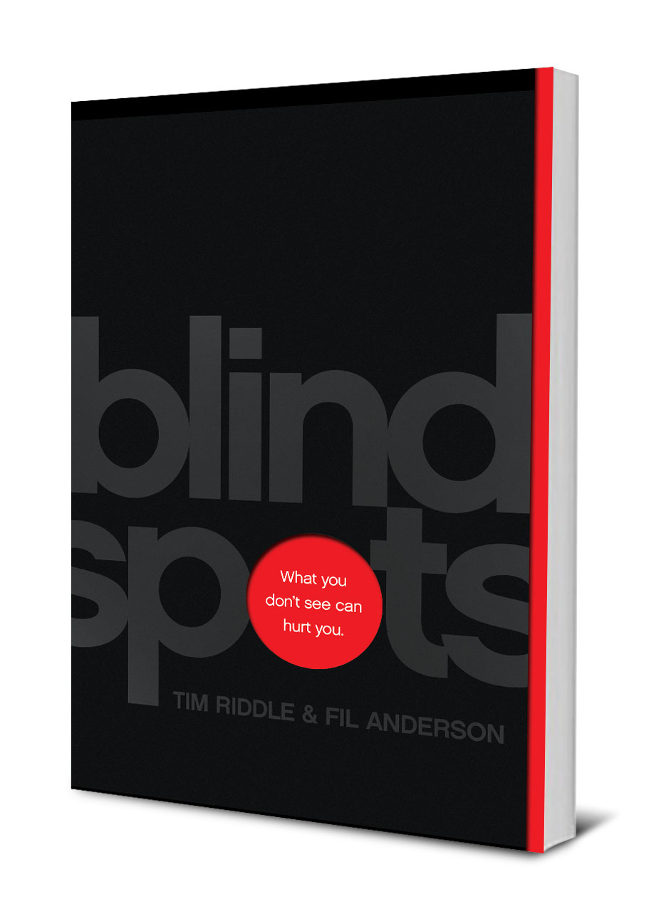 Blindspots by Fil Anderson and Tim Riddle is available