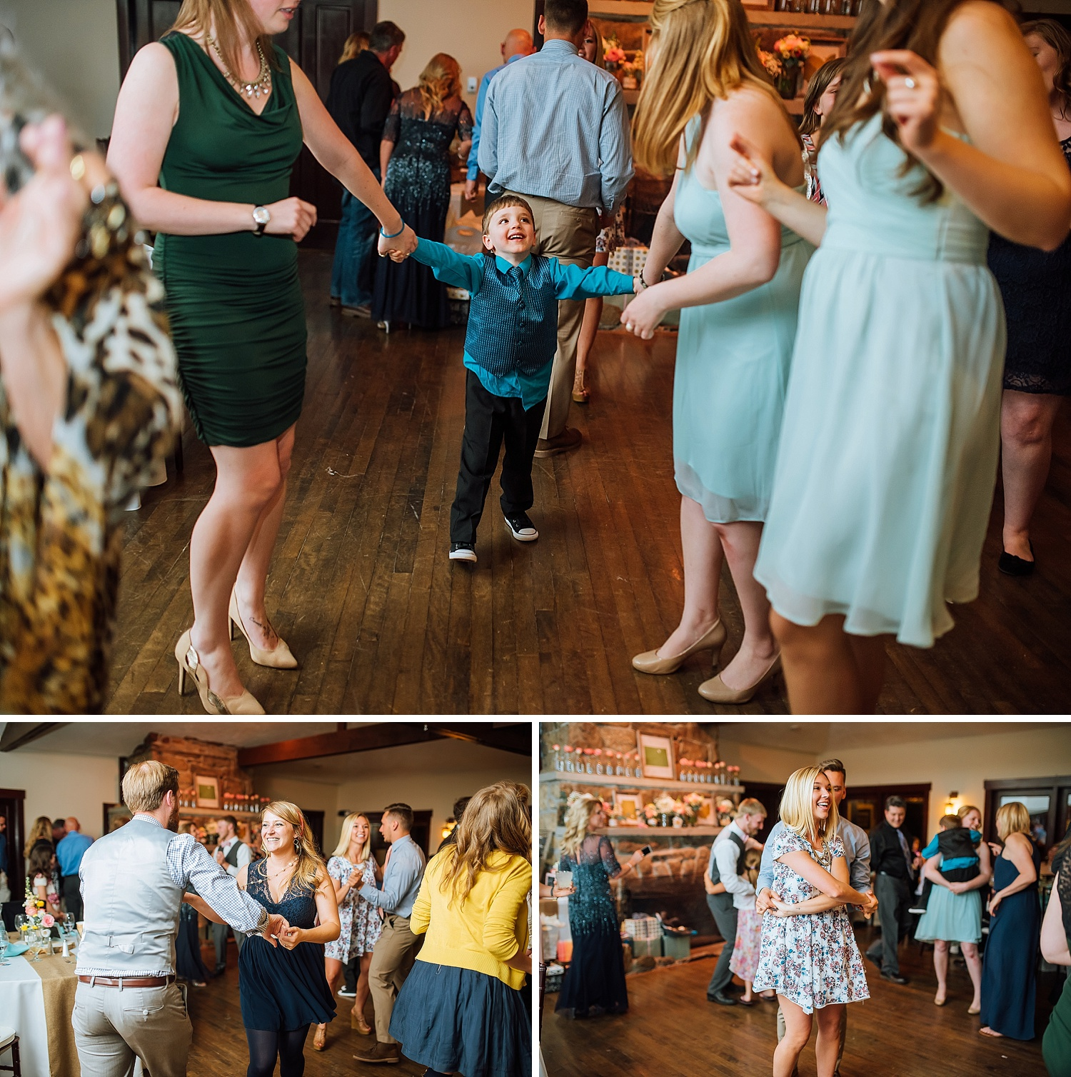 Mary's Lake Lodge is an amazing wedding reception venue up in Estes Park!Photo by Maddie Mae Photography