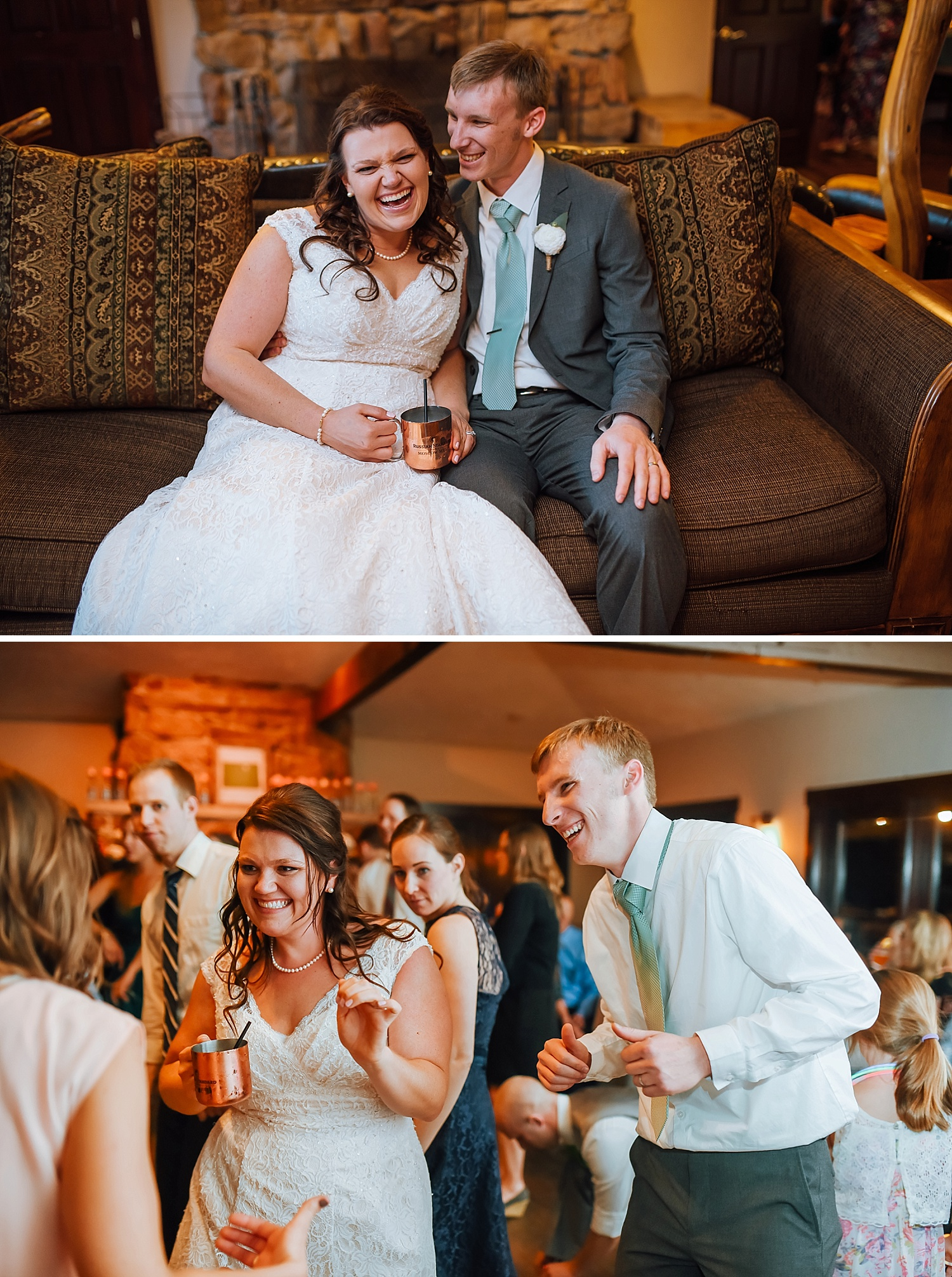 I love Moscow Mules! Definitely going to have them at my wedding reception! Perfect for a mountain wedding up in Estes Park!Photo by Maddie Mae Photography