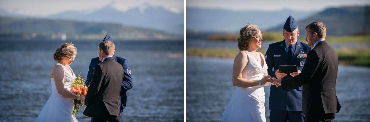Such a cute wedding at Grand Lake, Colorado! Photo by Maddie Mae Photography