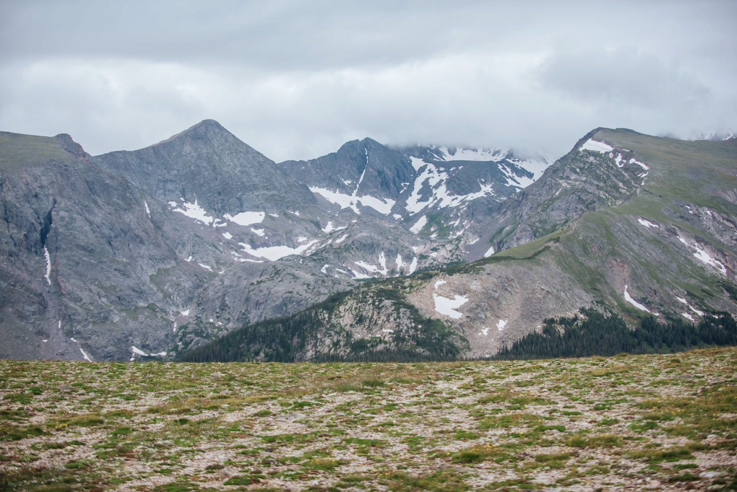 The tall mountains in Rocky Mountain National Park are breathtaking any time of the year! Photo by Maddie Mae Photography