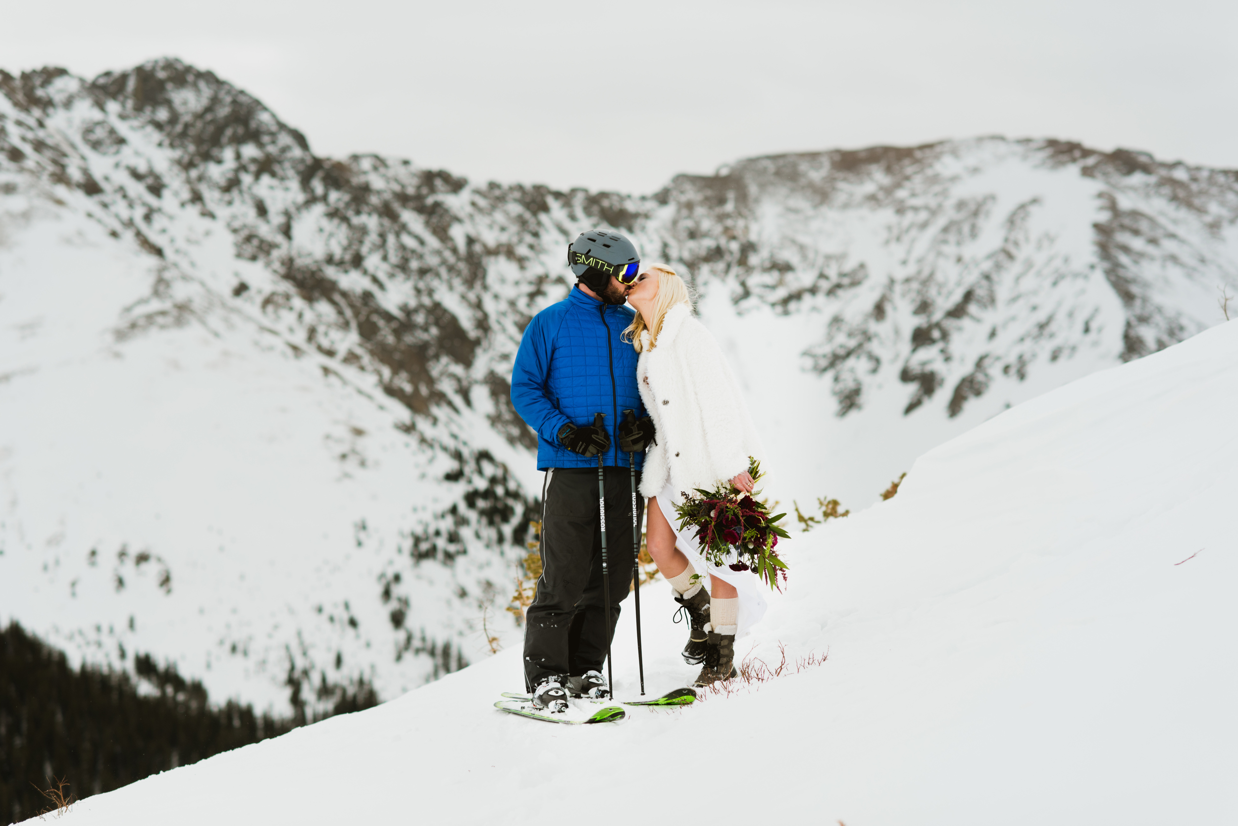 An elopement at its finest. Britta and Colin sure know how to have fun together!| Intimate, adventurous photos by Maddie Mae
