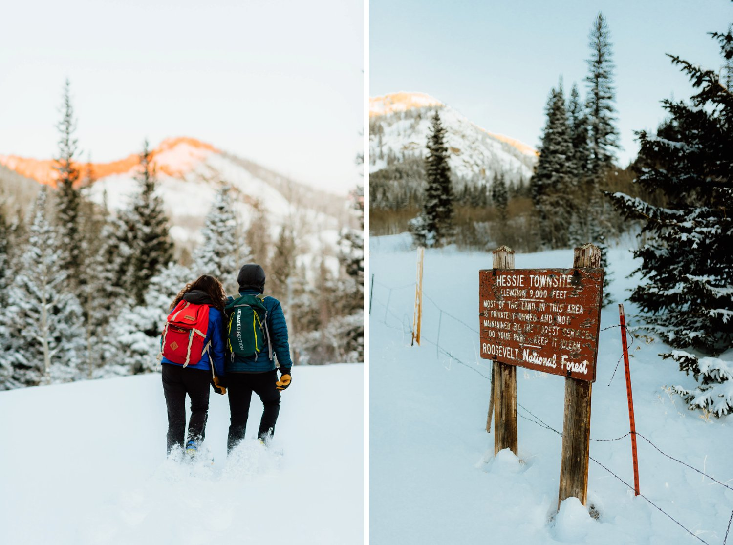 Hessie Trailhead in Indian Peaks Wilderness area is such a beautiful mountain trail. I love the idea of having an engagement session here!| Colorado engagement photos by adventurous, mountain wedding photographer, Maddie Mae.