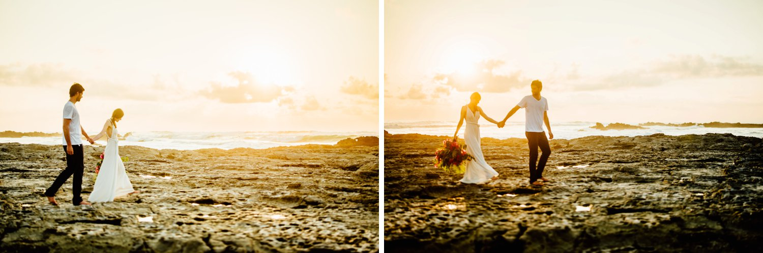 I am totally going to have a Santa Teresa Beach wedding! These Costa Rica destination elopement photos are breathtakingly beautiful.  Costa Rica wedding photography by destination wedding photographer, Maddie Mae.
