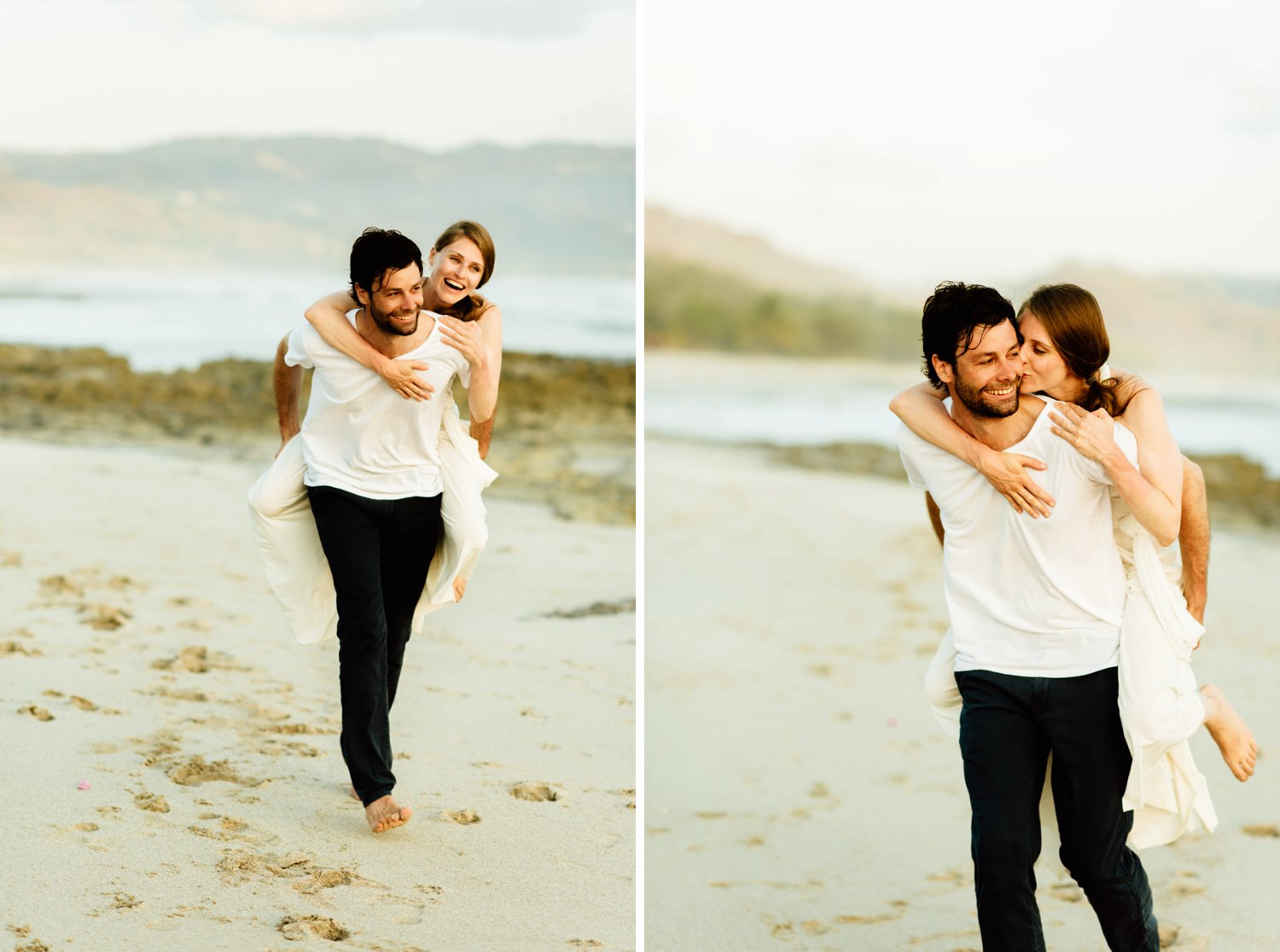 Its capturing those intimate moments that is really important to me for our wedding photos! Love the idea of an intimate elopement on the beach!  Intimate wedding photography by Costa Rica destination wedding photographer, Maddie Mae.