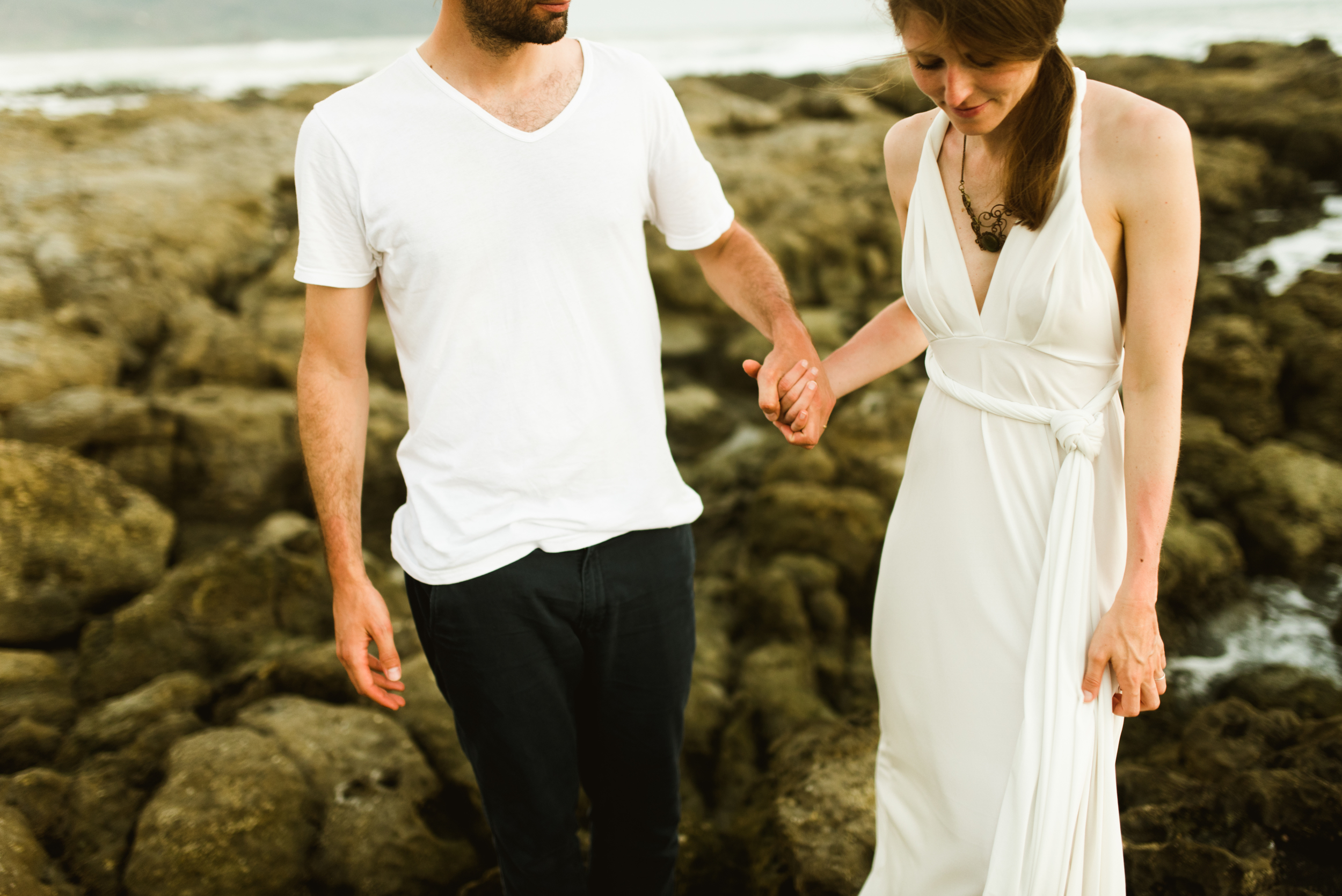 AdoRable casual, wedding photos in Costa Rica! I love how Stefan and Martina had their destination elopement on Santa Terest beach with a photographer! Elopements deserve just as much special treatment as big weddings!  Intimate wedding photography by Costa Rica destination wedding photographer, Maddie Mae.