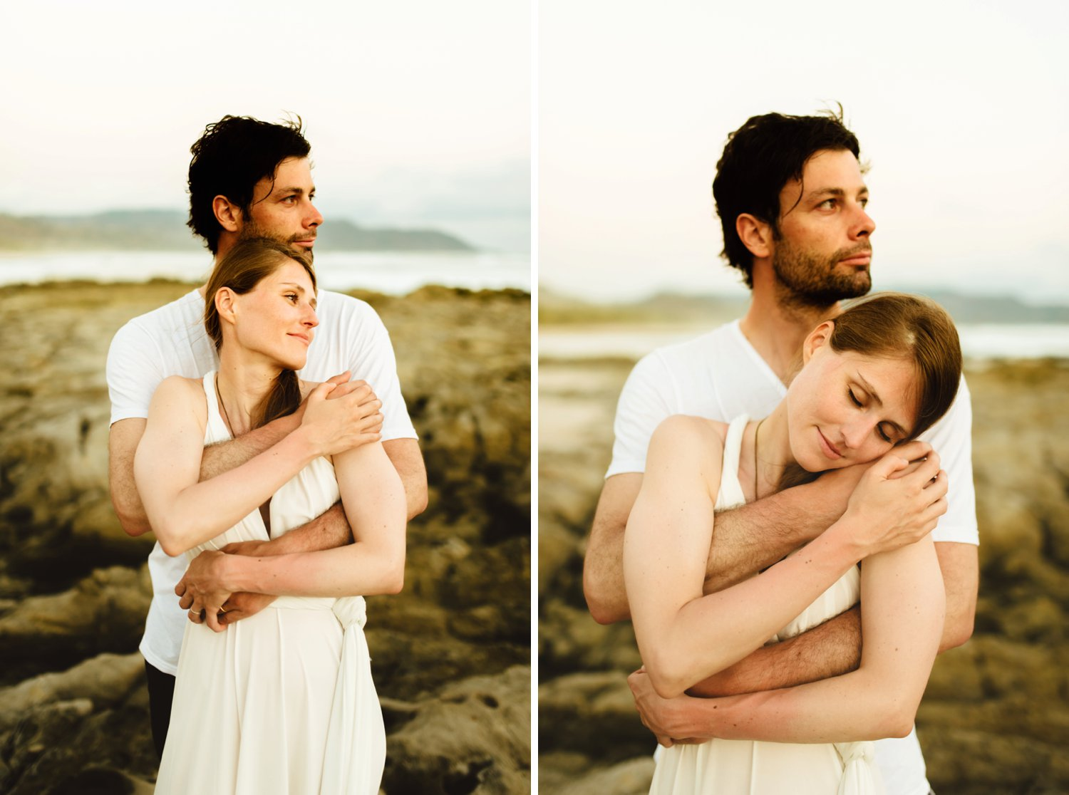This couple is so intimate and in love. I adore these photos from their destination beach elopement in Costa Rica!  Beach wedding photography by destination wedding photographer, Maddie Mae.