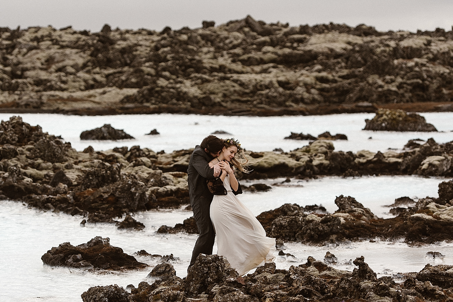 Trying to pick a place for your own elopement adventure? Look no further than Iceland. With diverse landscapes, epic winds and the infamous Blue Lagoon, what other place could be so magical. This intimate elopement throughout Iceland was captured by intimate wedding photographer Maddie Mae.