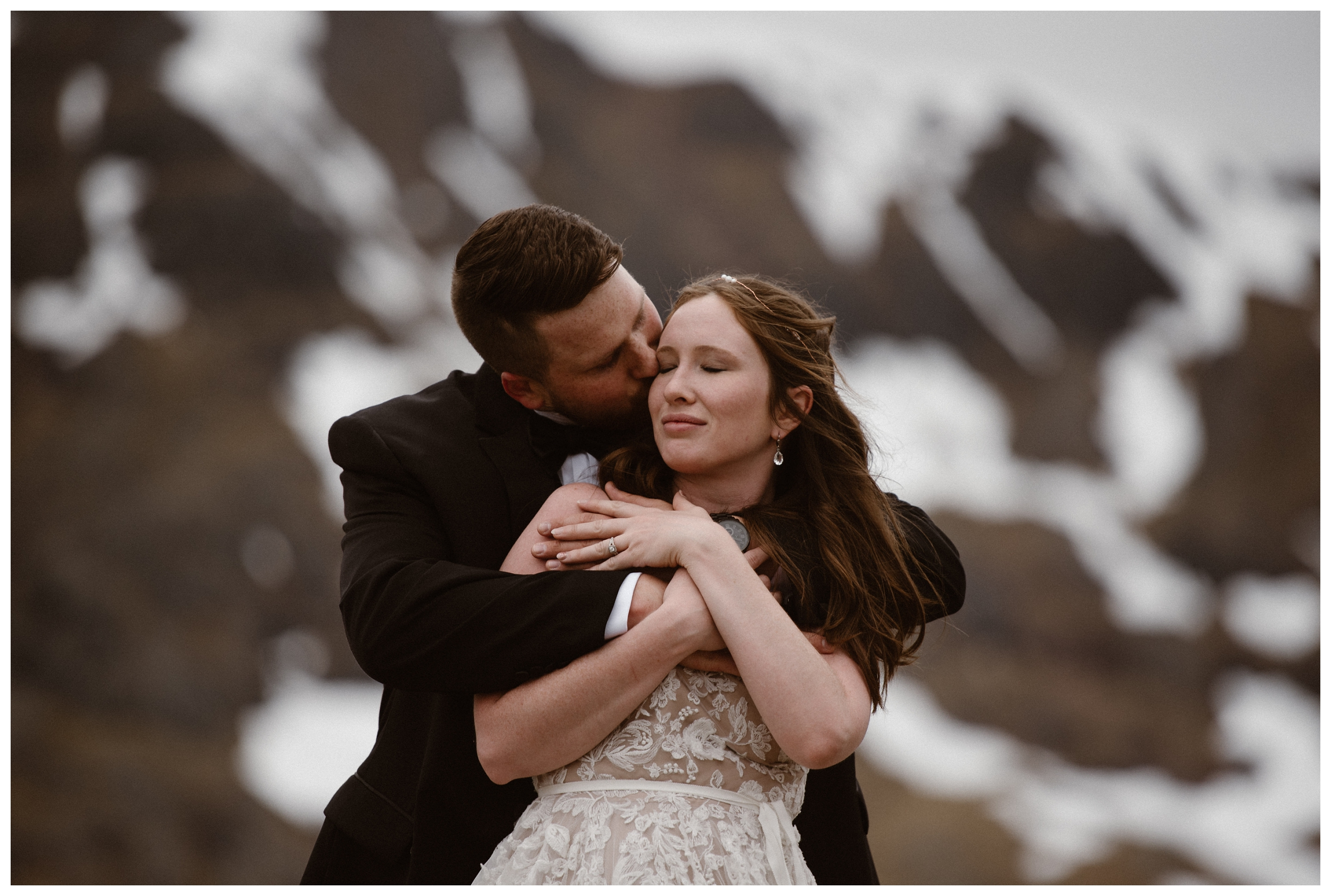 Elissa and Daniel chose to road trip around the Scottish Highlands for their destination elopement so they could experience something new together on their wedding day. Photo by Maddie Mae, Adventure Instead.