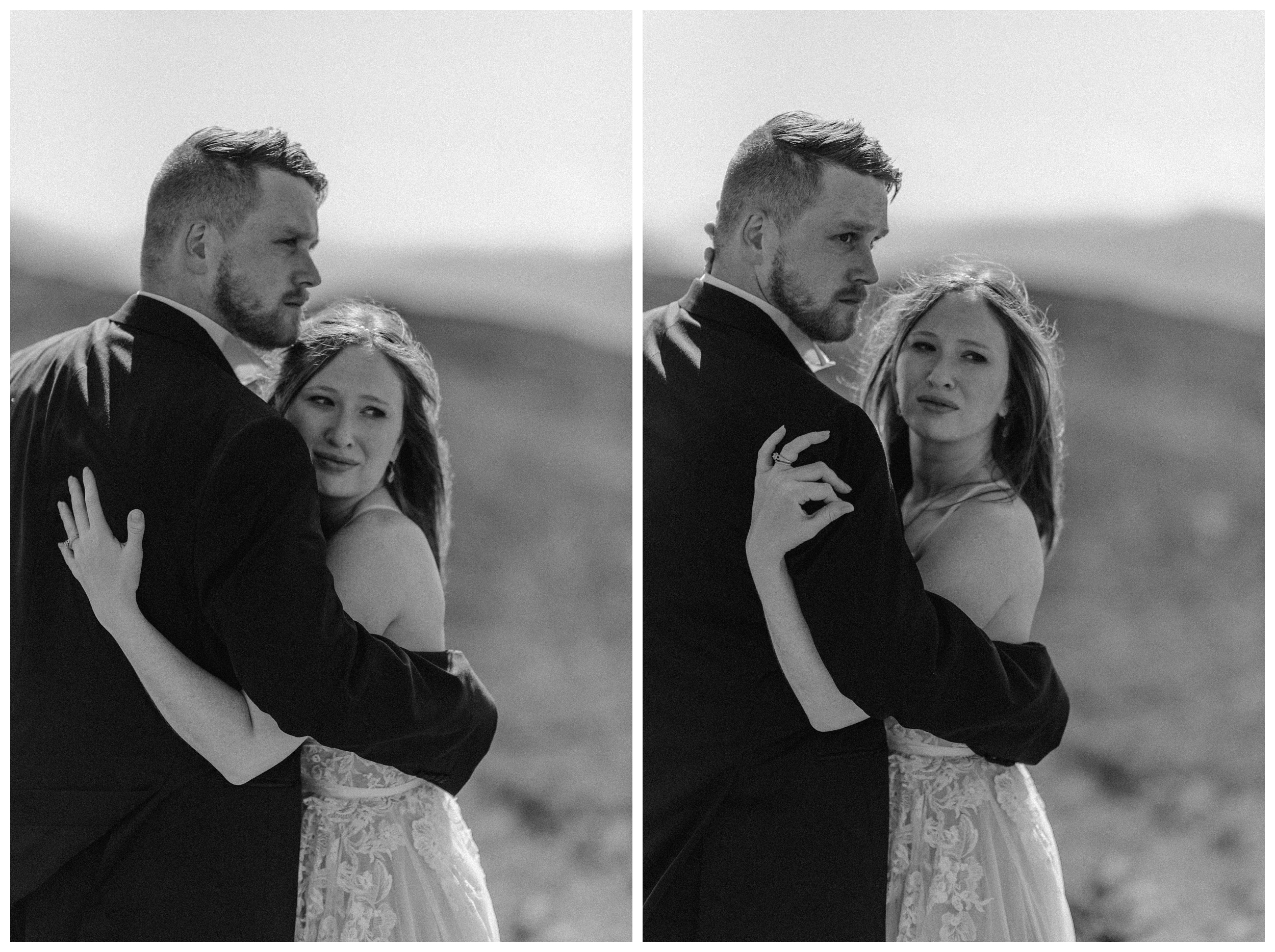Elissa and Daniel had never been to the Scottish Highlands or Scotland before so we helped them plan their ideal elopement day as their unofficial elopement guides. Photo by Maddie Mae, Adventure Instead.