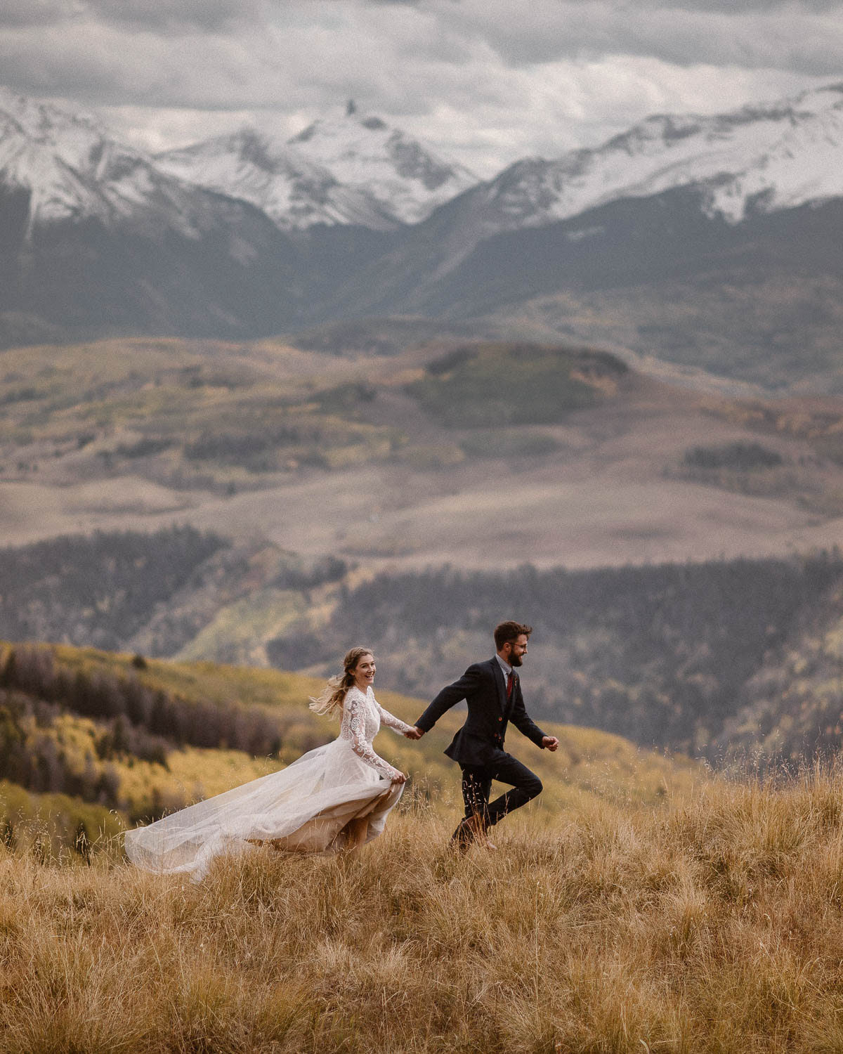 Colorado Elopements & Intimate Weddings - We define an elopement as an intimate wedding day experience that's focused on YOU two and can include up to 25 of your closest family or friends (if you'd like)—or just have a incredible day just by yourselves. We know Colorado like the back of our hand, and would love to help you find the perfect location to say your vows.