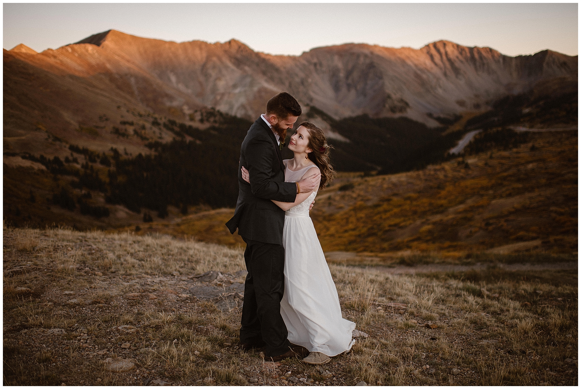 You have a choice when it comes to your wedding! We help you plan your ideal elopement day anywhere in the world. Photo by Maddie Mae, Adventure Instead Elopement Photographers.