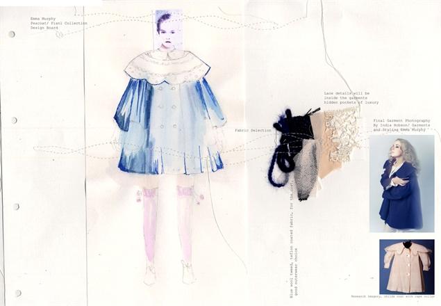 Fashion Illustration by Emma Murphy.