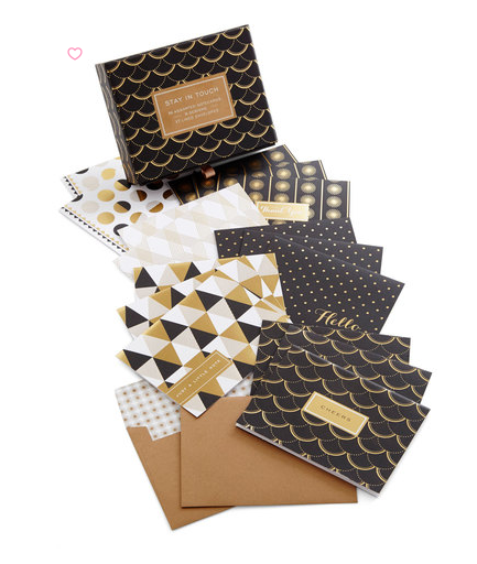 NOTE CARDS. Whether you want to thank a co-worker for doing a good job or send a note to a client in the mail. These are a must.