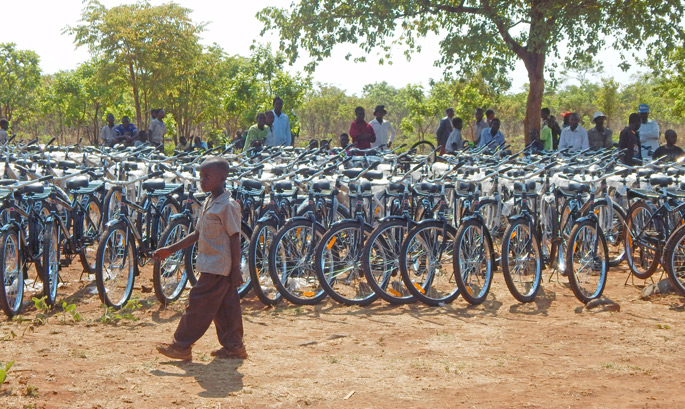 World Bicycle Relief is a global non-profit organization providing transportation relief to the worlds poor.