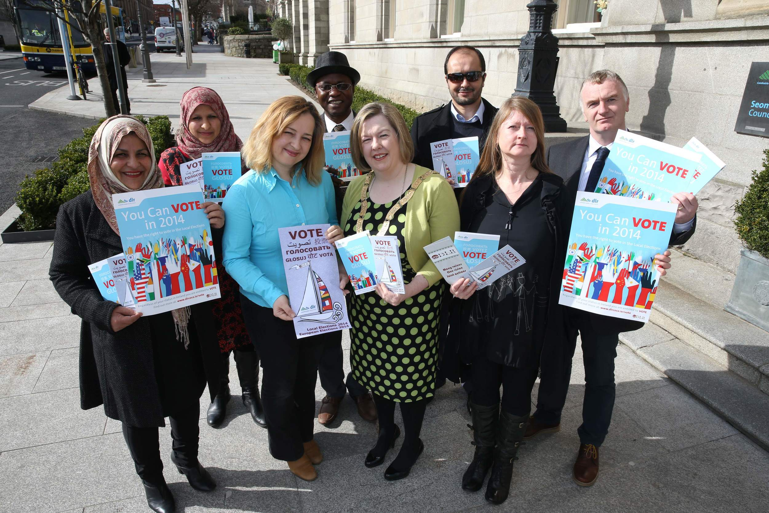 Voter Leaflet Launch