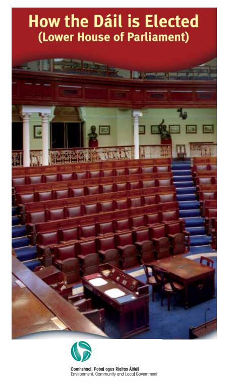 Click here to learn about how the Dáil is Elected -