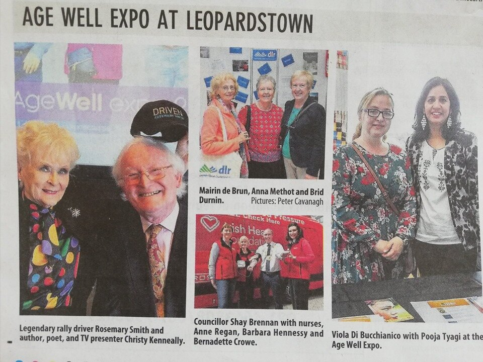 Age Well Expo including Forum members in the Irish Examiner.jpg