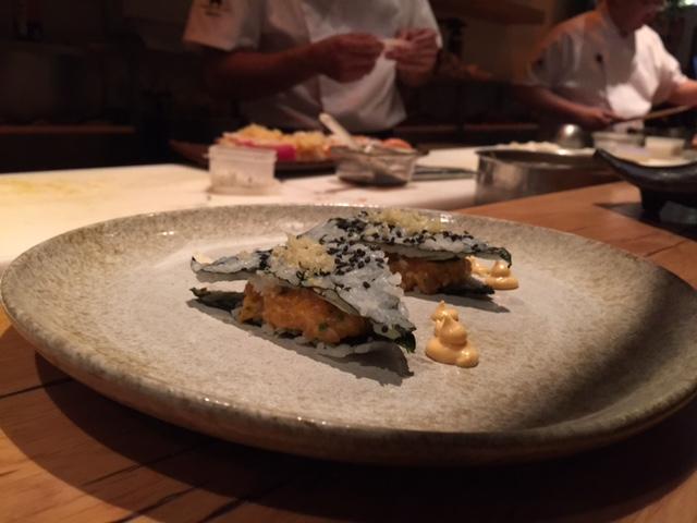 """""""Sanduíches"""" creación del chef Fabrizio Mtsumoto"""