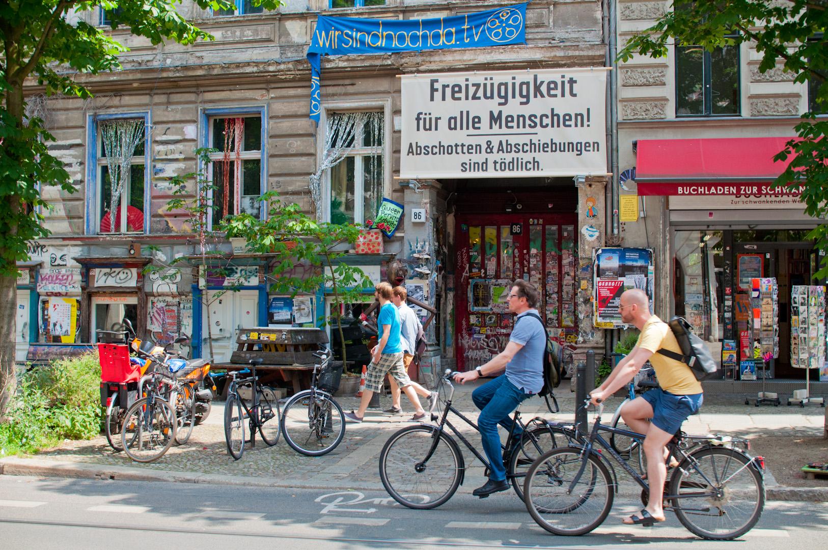 Prenzlauer Berg, uno de los mejores ejemplos de lo que es la  gentrificación  a nivel mundial.