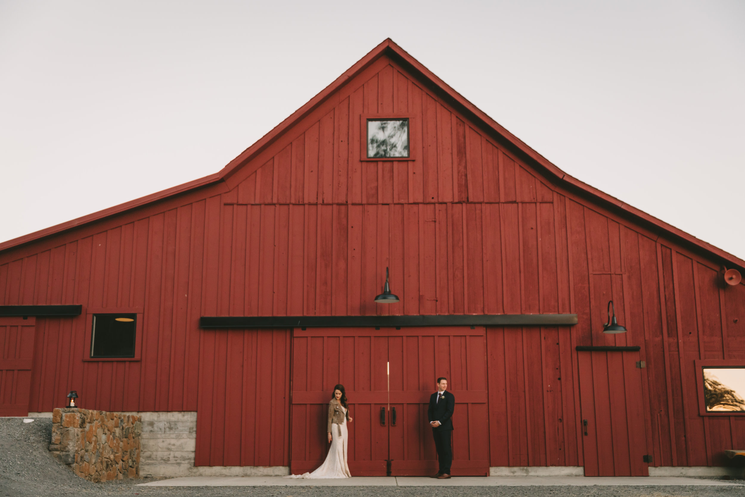 Straus Home Ranch - Fall wedding