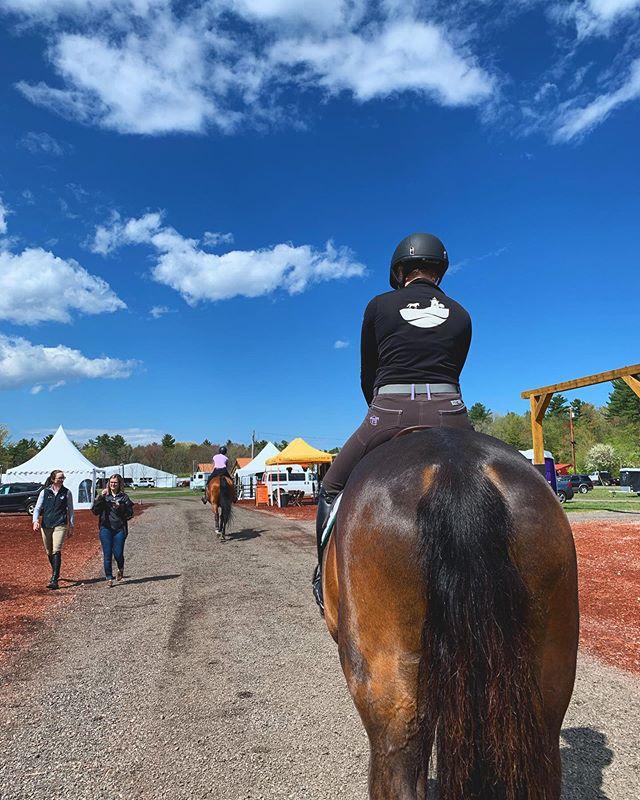 #vineyardgirls repping #thevineyardequestrian at week two of #fieldstoneshowpark 's spring festival. . . . #marthasvineyard #equestrianapparel #equestriangear #equestrianstyle #equestrianlife #equestrianlifestyle #equestrian #equestrians #horseshow #horseshowlife #bluesky #springtime #springfestival