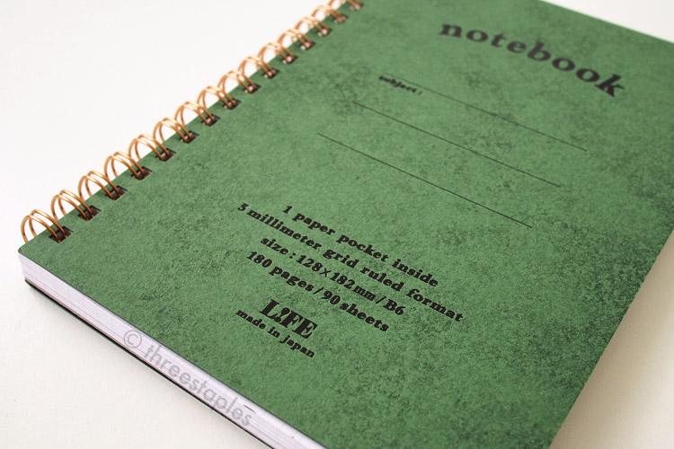 L!FE notebook in B6