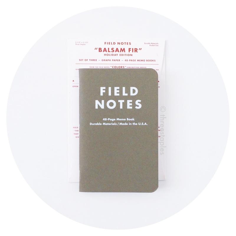 Field Notes Colors: Balsam Fir (Winter 2010)