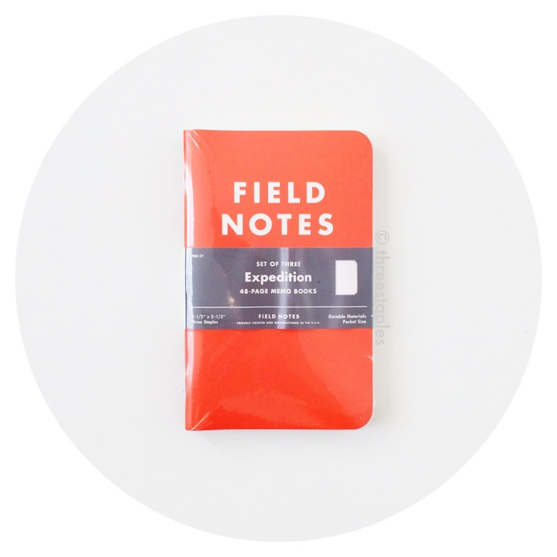 Field Notes Colors: Expedition (Winter 2012)