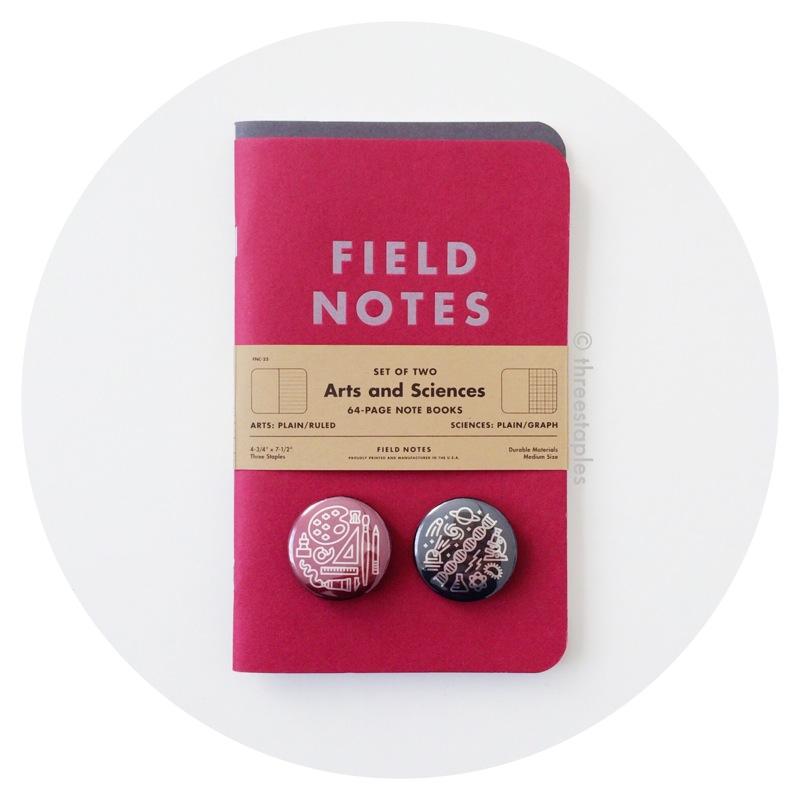 Field Notes Colors: Arts & Sciences (Summer 2014)