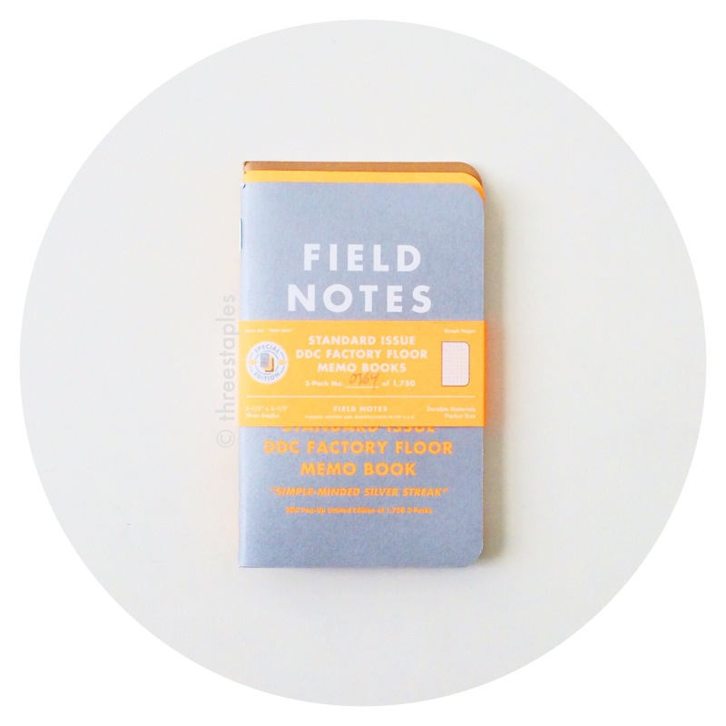 Field Notes: DDC Standard Issue Factory Floor Pop-Up Shop Edition (2014)