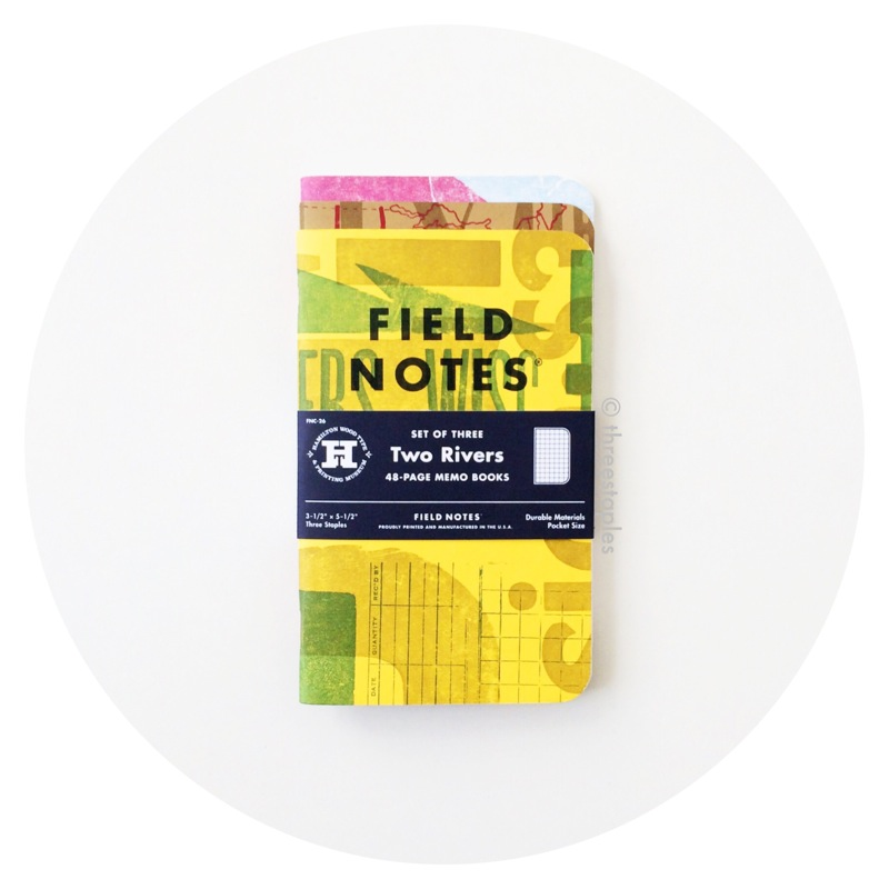 Field Notes Colors: Two Rivers (Spring 2015)