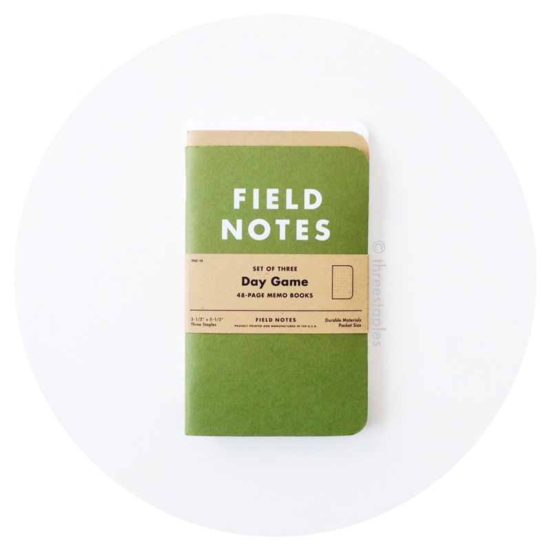 Field Notes Colors: Day Game (Summer 2012)