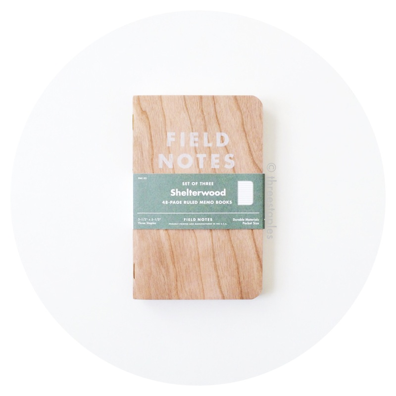 Field Notes Colors: Shelterwood (Spring 2014)