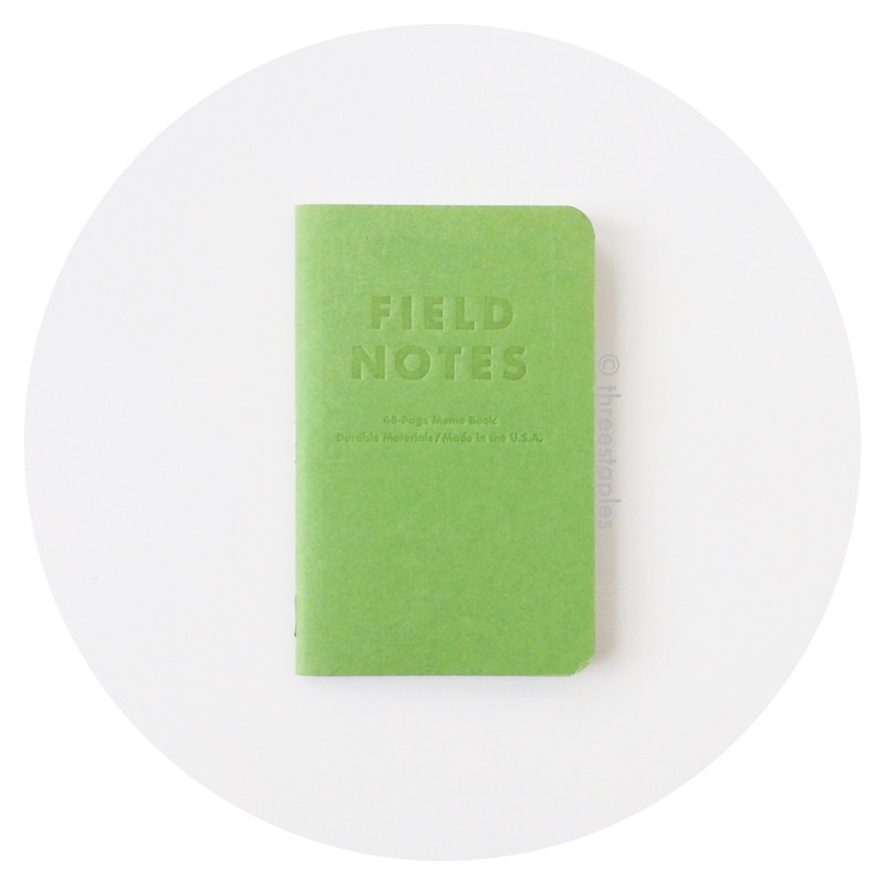 Field Notes Colors: Grass Stain Green (Summer 2009)